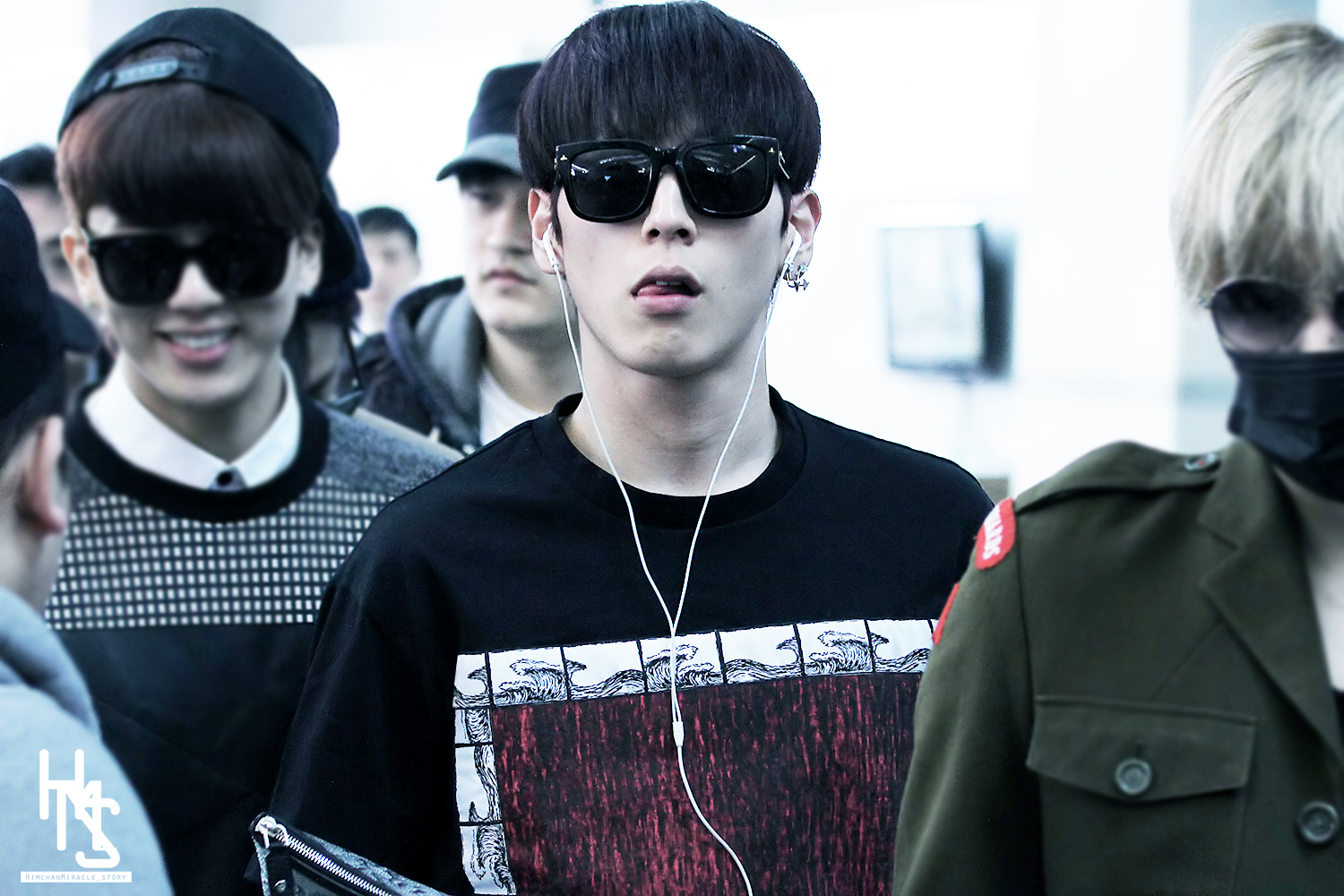 PICT] 140411 B.A.P Himchan @ Incheon Airport #1 [13P] | bumblebee