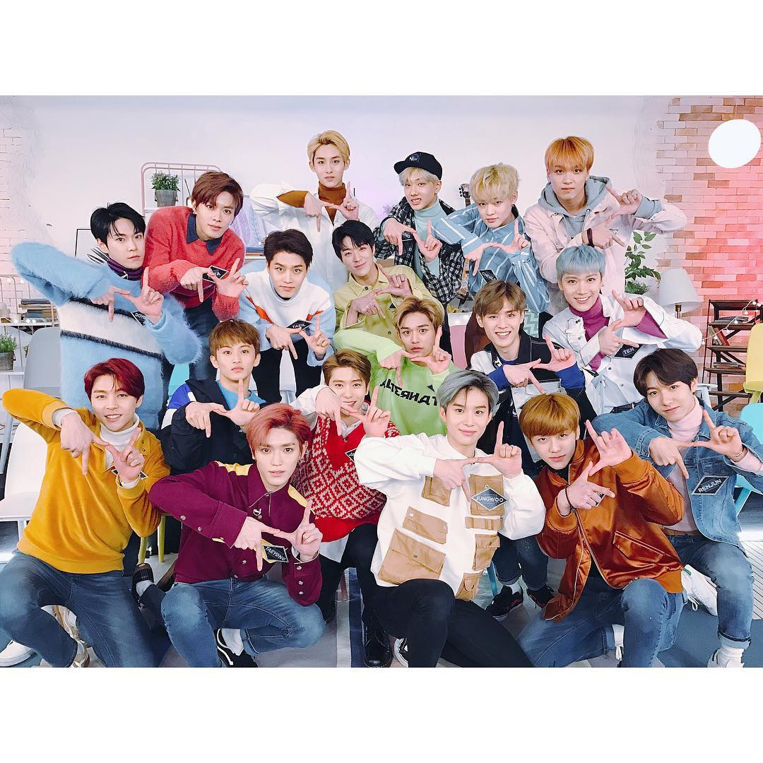 Neo Culture Technology: [PICT/HD] 180206 NCT 2018 OT18